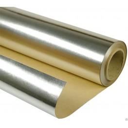 Алюминиевая фольга на крафт-бумаге, 12 м2