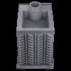 Чугунная банная печь Гефест ЗК-18П  до 18 м3
