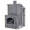Чугунная банная печь Гефест ЗК Ураган-25П до 25 м3