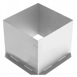 Потолочно-проходной узел для дымохода (ППУ), 400х400