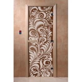 Дверь DoorWood 680х1890 «Хохлома»