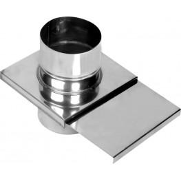 Шибер-задвижка для дымохода, 0,8мм d115